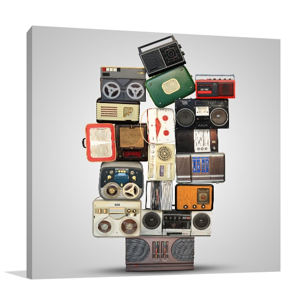 Audio Recorder Canvas Prints