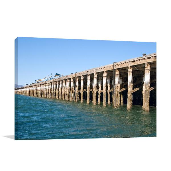 Augusta Art photo Print Wharf Port