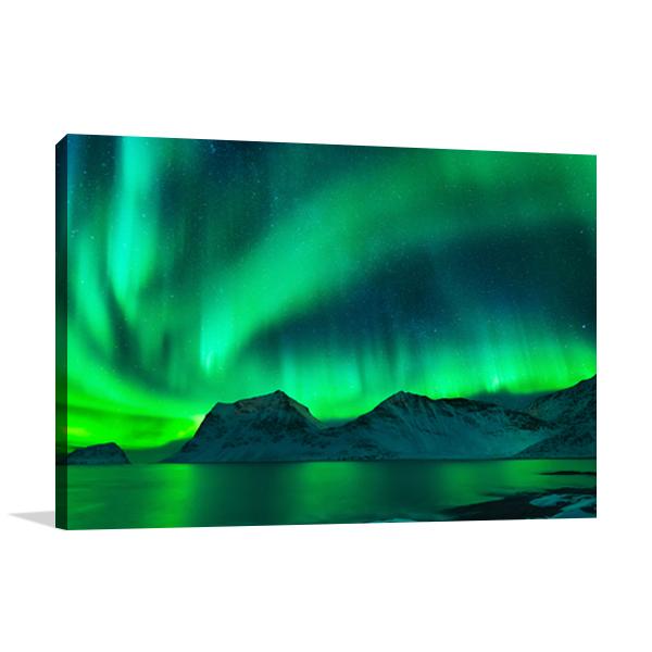 Aurora Borealis I Wall Art Print