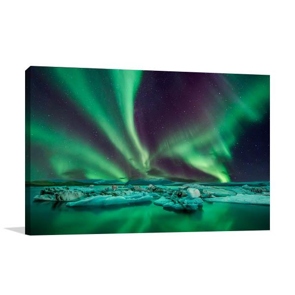 Aurora Lights Canvas Art