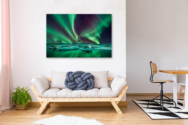 Aurora Lights Canvas Prints