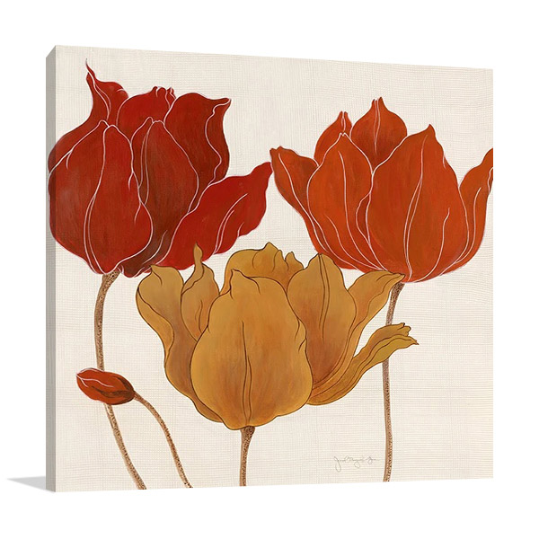 Austin's Tulips II | Floral Art Print
