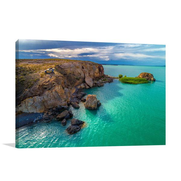 Australia Art Print Emerald Sea