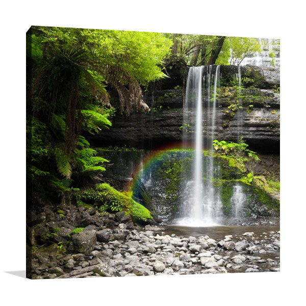Australia Art Print Little Rainbow Waterfall