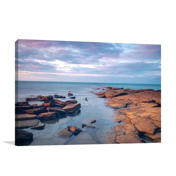 Australia Art Print Seascape Coastline