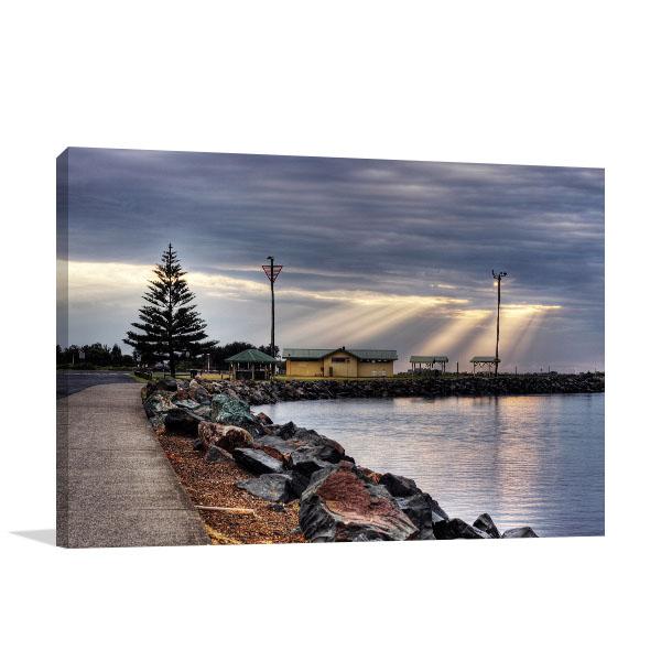 Australia Art Print Wall Spiritual Rays