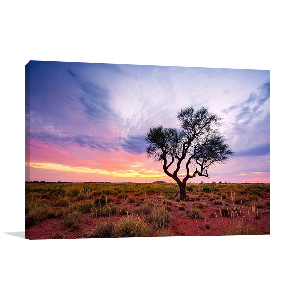 Australia Pilbara Region Wall Canvas Print
