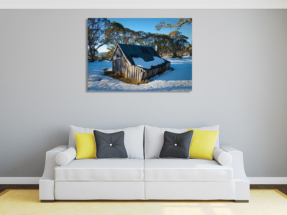 Victoria Australian Print on Canvas