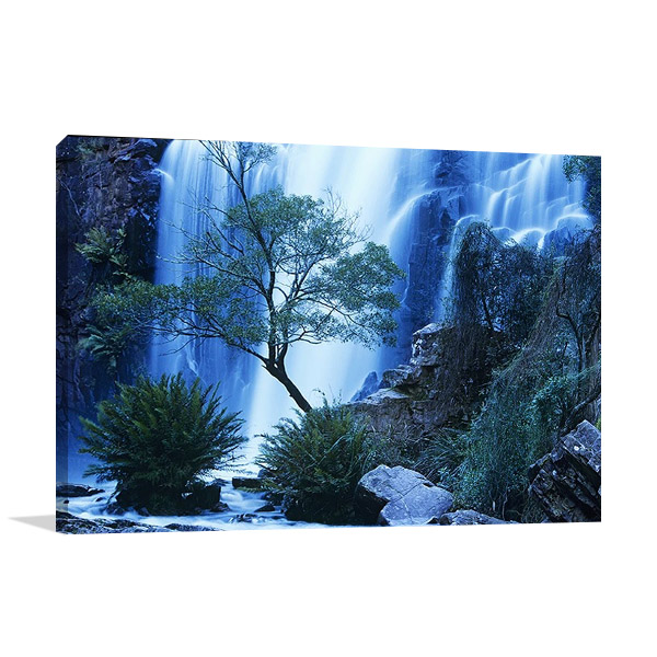 Australia Landscape Waterfall Canvas Print