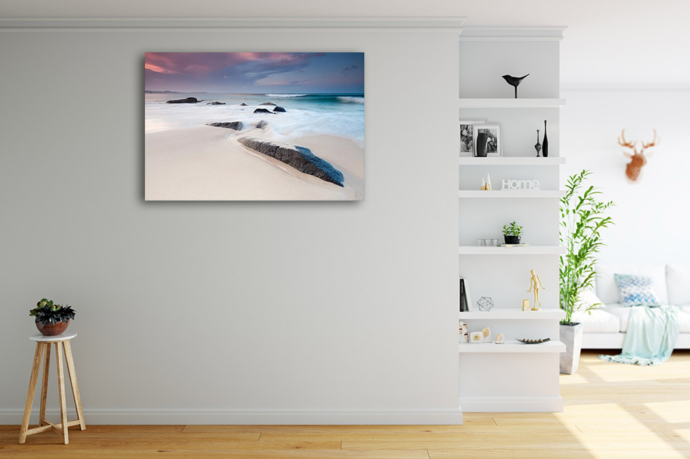 Blue Seascape Photography Print