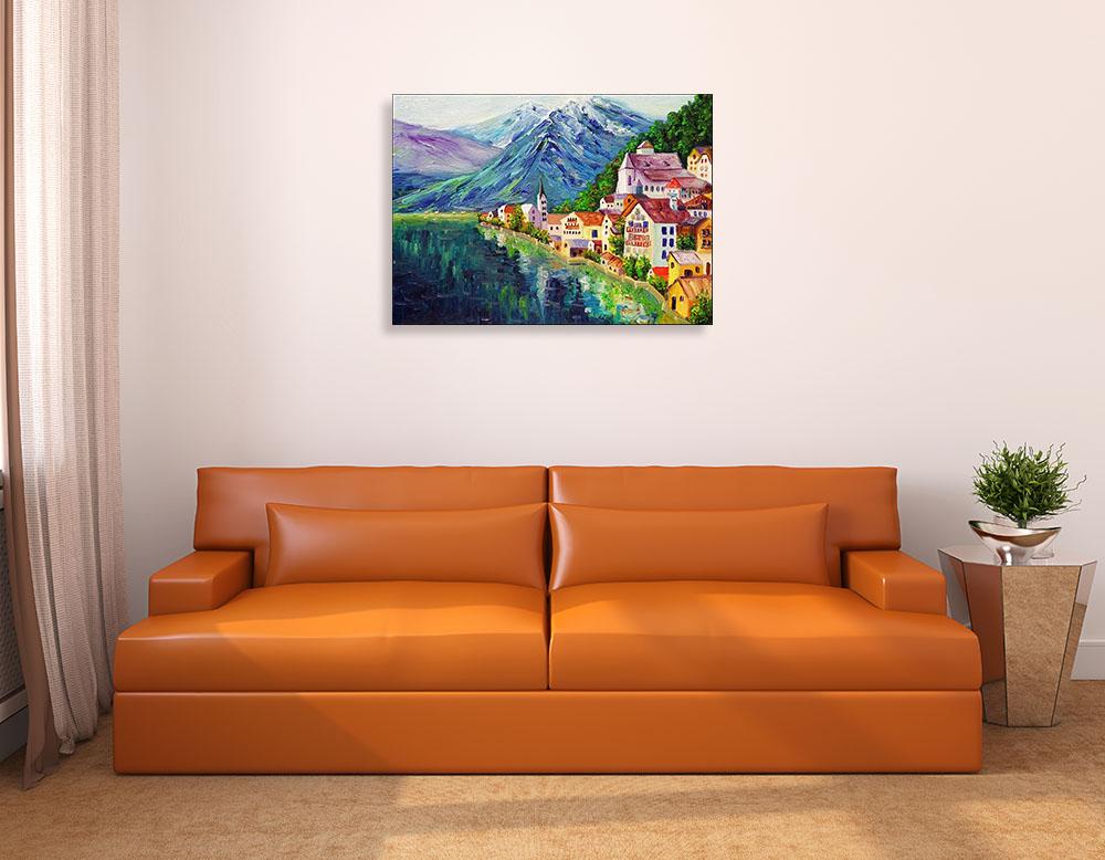 Oil Painting Contemporary Landscape