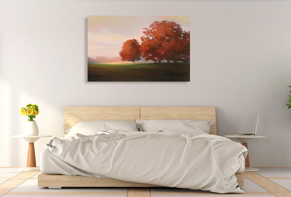 Bedroom Wall Print on Canvas
