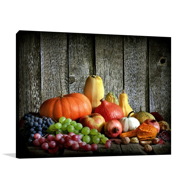 Autumn Harvest Print Artwork