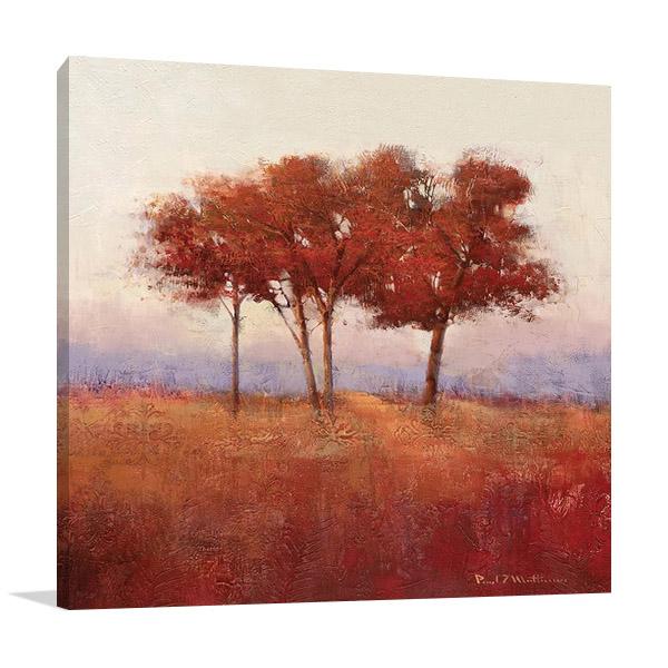 Autumn Morning Wall Art | Paul Mathenia