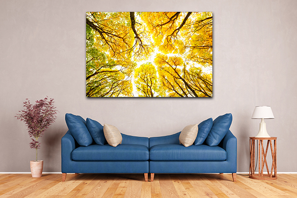 Autumn Pattern Canvas Art