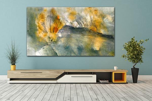 Autumn Pond Artwork