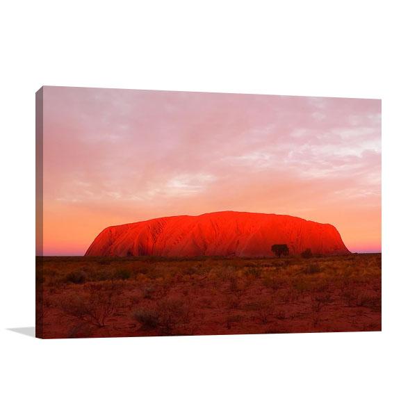 Australia Ayers Rock Uluru Print