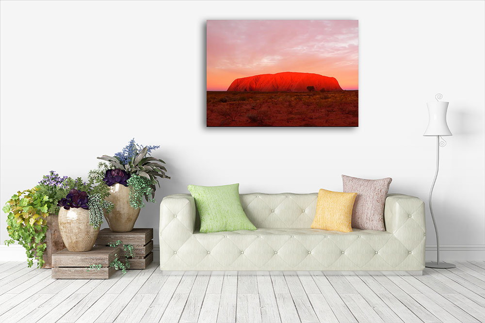 Canvas Print Red Desert Sand Australia