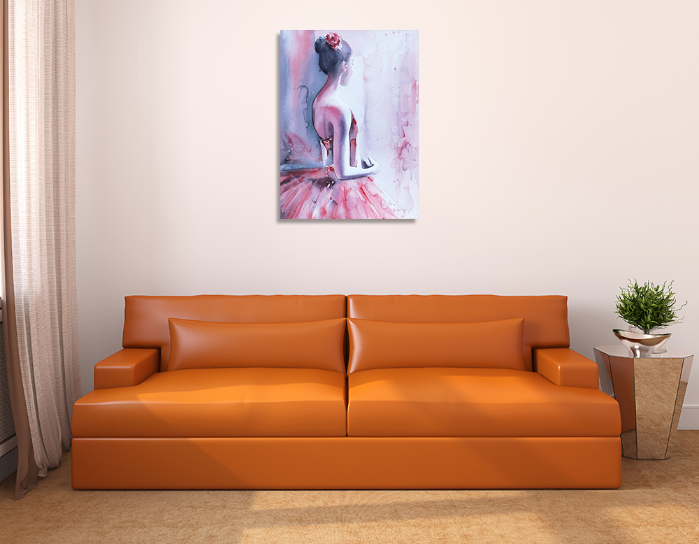 Feminine Art Print on Canvas