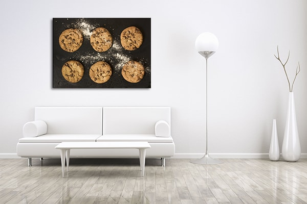 Baked Cookies Prints Canvas