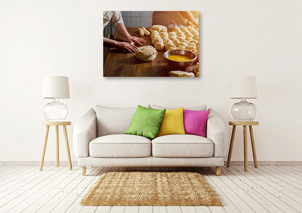Baking Pies Canvas Prints