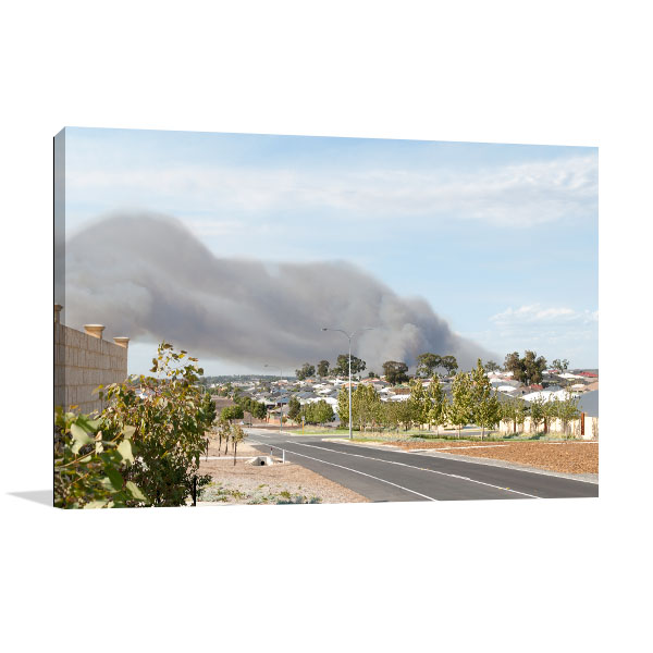 Baldivis Canvas Art Print Suburb