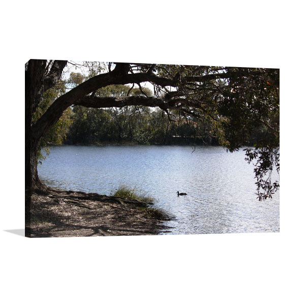 Ballajura Wall Art Print Emu Lake