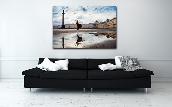 Ballerina Canvas Prints