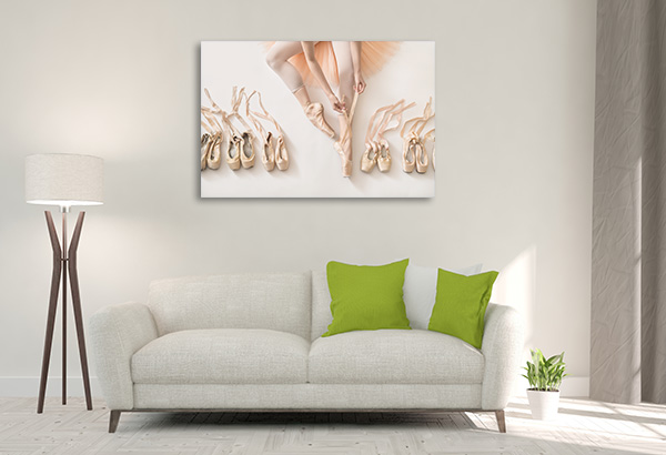 Ballet and Shoes Artwork