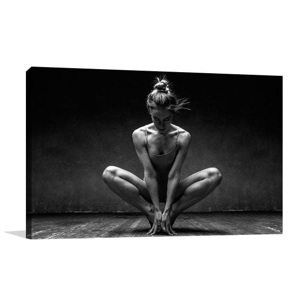 Ballet Dancer Prints Canvas