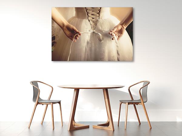 Ballet Dress Canvas Art