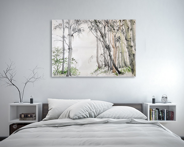 Bamboo Forest Canvas Prints