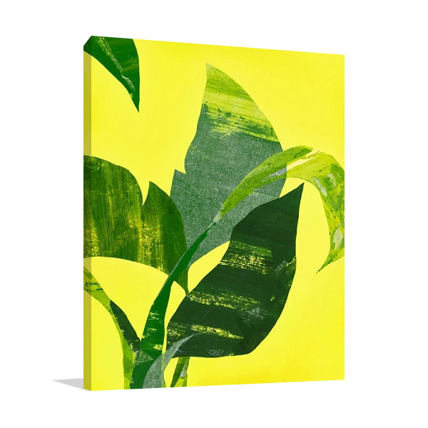 Banana Leaf II Wall Print