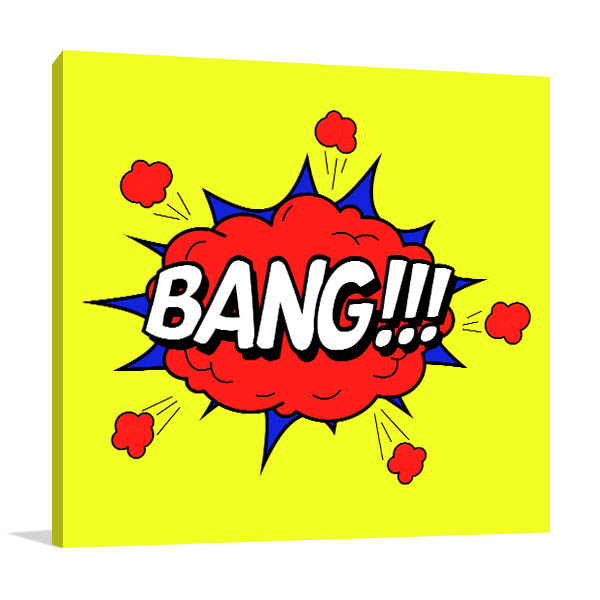 Bang Popart Artwork
