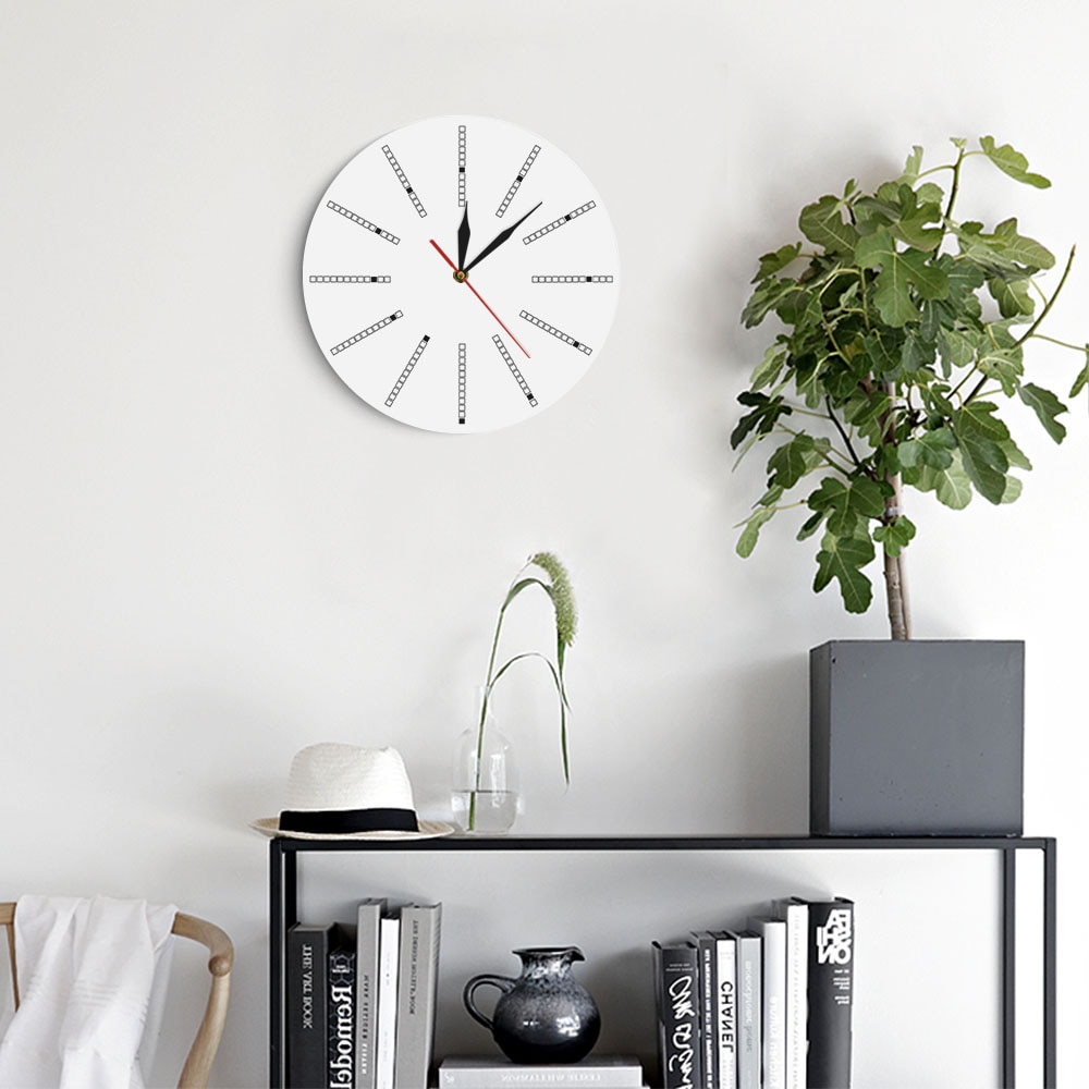 Needle Type Minimalist Wall Clock Sydney