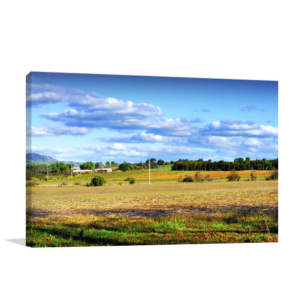 Barossa Art Print Autumn Fall Valley