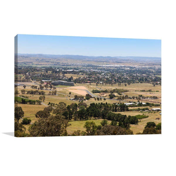 Bathurst Art Print Famous Mt. Panorama