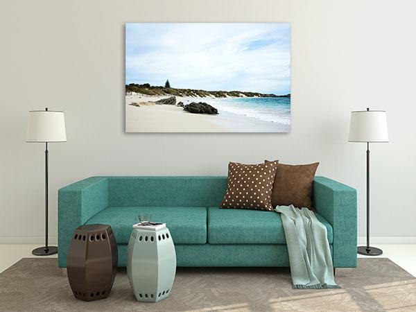 Beach at Rottnest Island Canvas Prints
