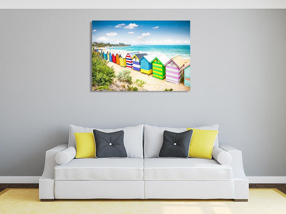 Australia Beach Melbourne Wall Print