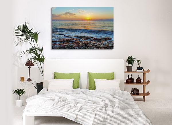 Beach Dawn Darwin Wall Art