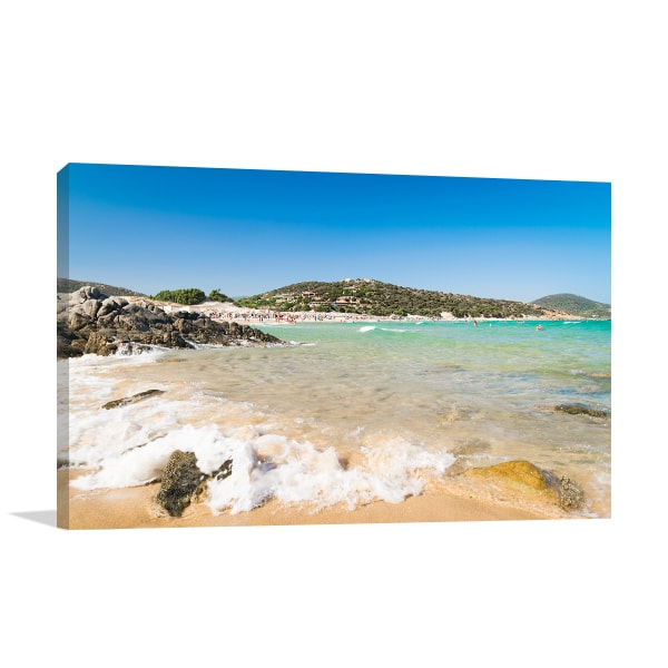 Beach Panorama Art Prints