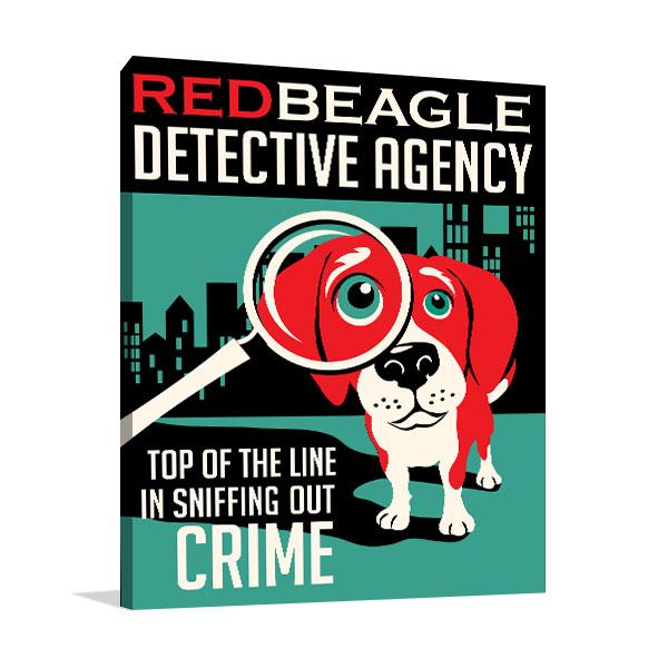 Beagle Dog Artwork