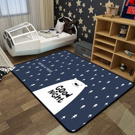 Modern Cartoon Style | Children Bedroom Rugs | Brisbane