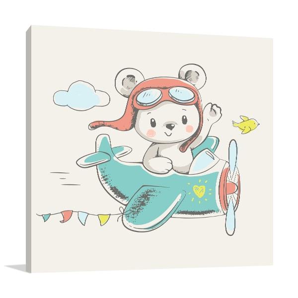 Bear On Board Artwork