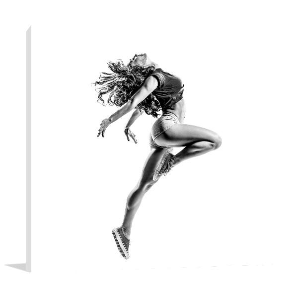 Beautiful Dancer Canvas Art Prints