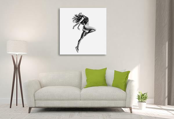 Beautiful Dancer Prints Canvas