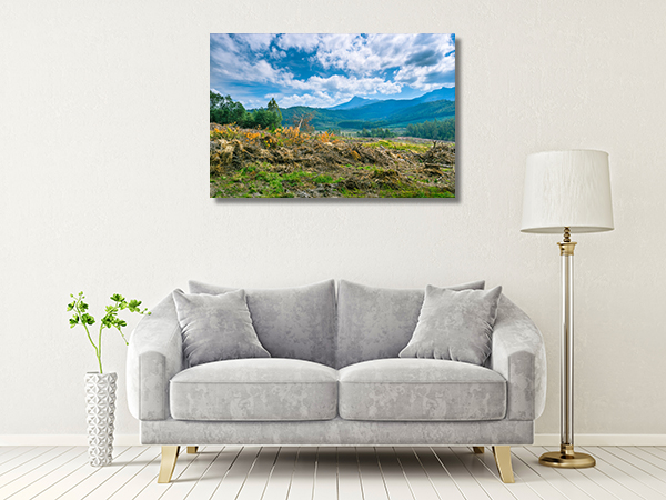 Beautiful Hobart View Canvas Prints