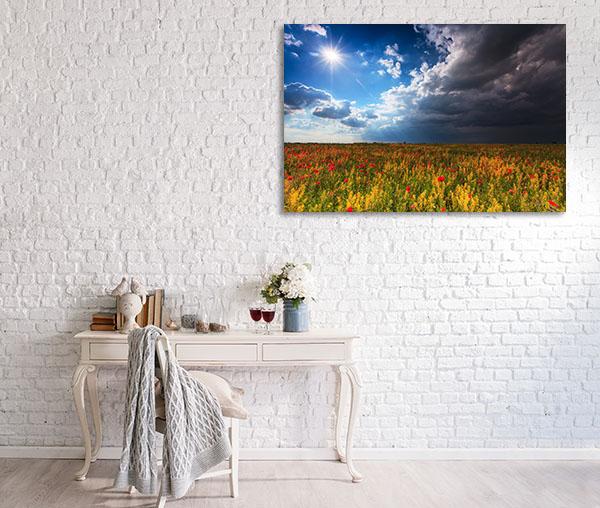 Beautiful Rural Scenery Prints Canvas