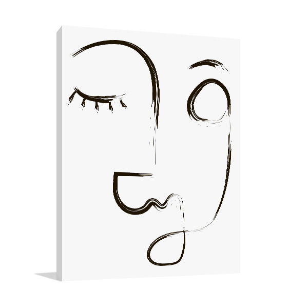 Beauty Line Wall Art Photo Print