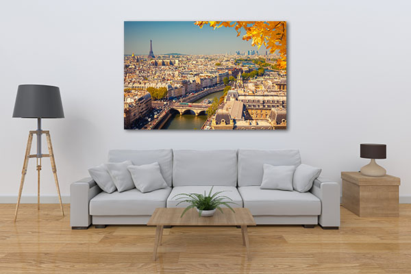 Beauty of the City of Love Print Artwork